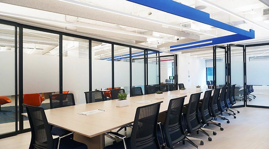 Glass Sliding Partition – Low Acoustic